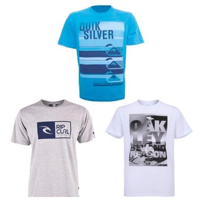 7e9961d39e Kit 10 Camisa Camiseta Masculina Marca Estampada Top