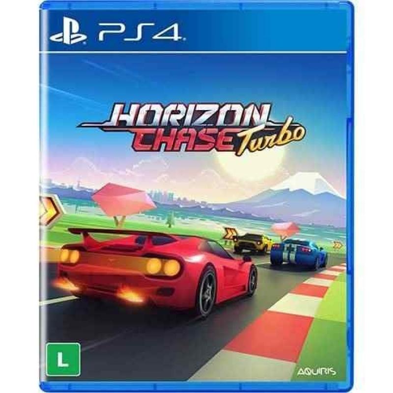 Horizon Chase Turbo Ps4 Midia Fisica Lacrado Em Português