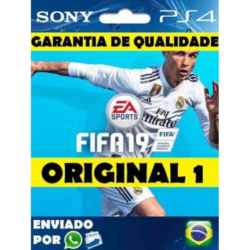 Fifa 19 Psn Ps4 Mídia Digital Code 1 Original 1 Português Br
