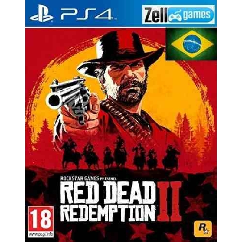 Red Dead Redemption 2 Ps4 Original 1 Legendado Em Português