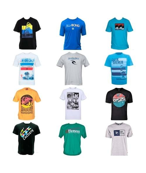 Kit 10 Camiseta Camisa Masculina Marca Estampada Top Atacado 06142c102476c
