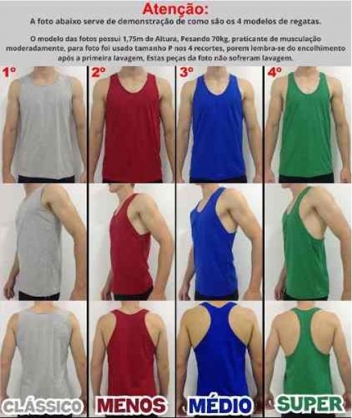 c392e98fb2 7 Regata Masculina Cavada Masculina Academia Camiseta Camisa