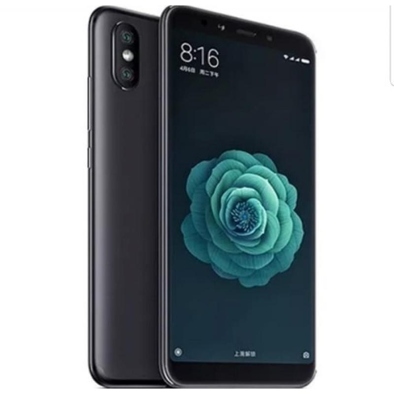 >Celular Xiaomi Mi A2 64gb 4g Ram Lacrado +capa+pelicula