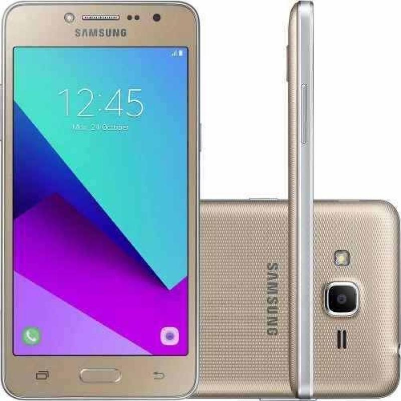 >Celular Samsung Galaxy G532 J2 Prime Dourado 16gb Dual