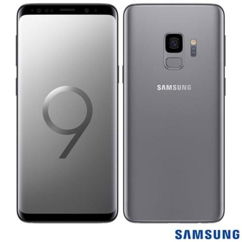 >Celular Samsung Galaxy S9 Cinza Tela 5,8  4g 128gb 12mp G960