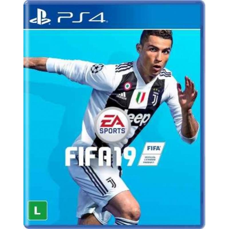 >Jogo Fifa 19 - Fifa 2019  Ps4
