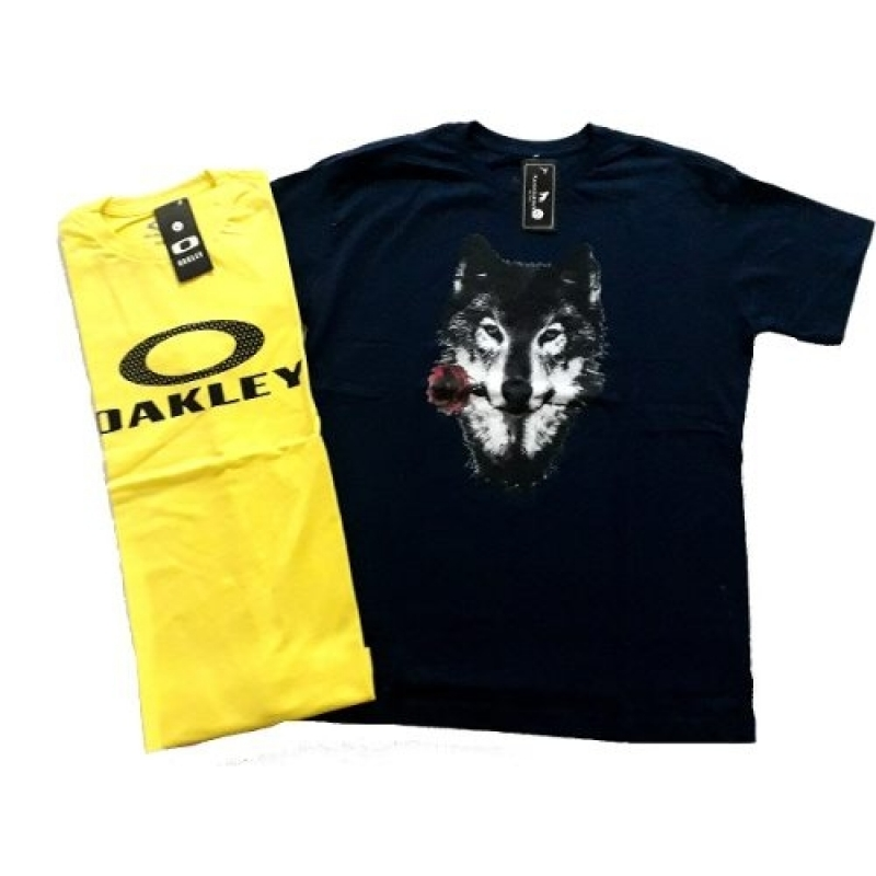 >Kit 10 Camisetas Blusa Camisa  Masculina Atacado