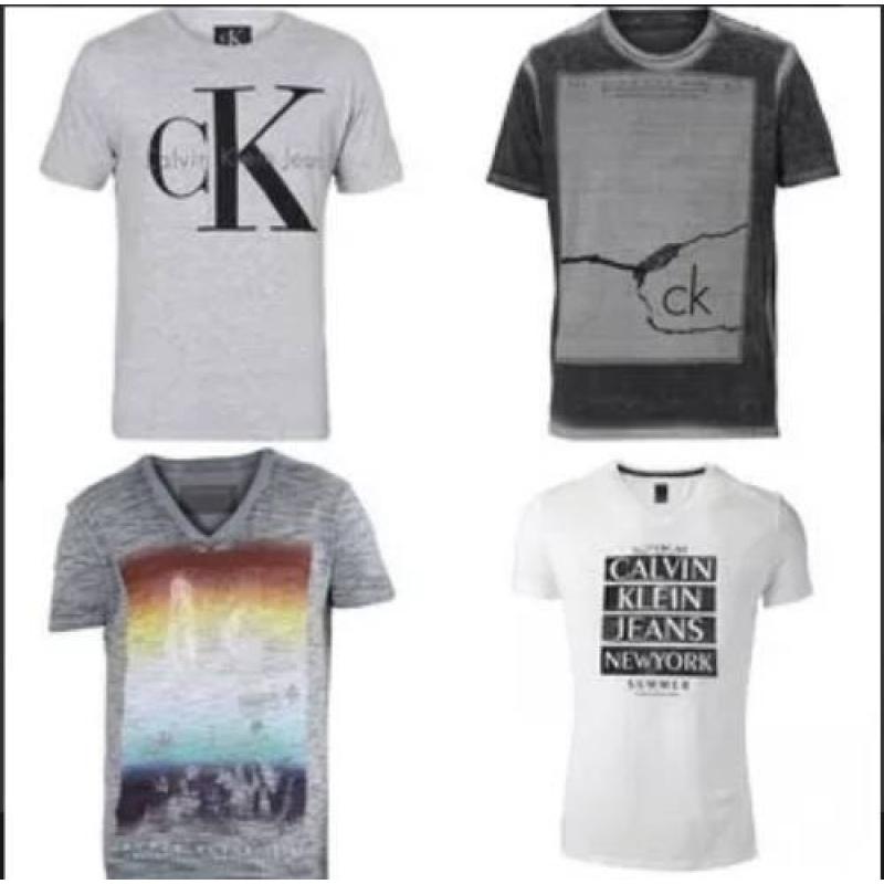 >Kit C/ 10 Camisetas Camisas Masculinas Promoção Valida Hoje