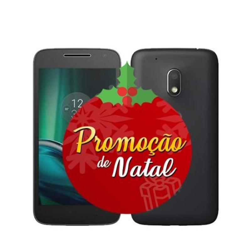>Celular Motorola Moto G4 Play 16gb Dual Tv Xt1603 - Vitrine