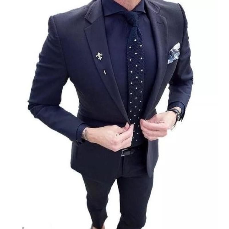 37cb60e5a1 Blazer+calça Masculino 2em1 Slim Fit Luxo Importado !!