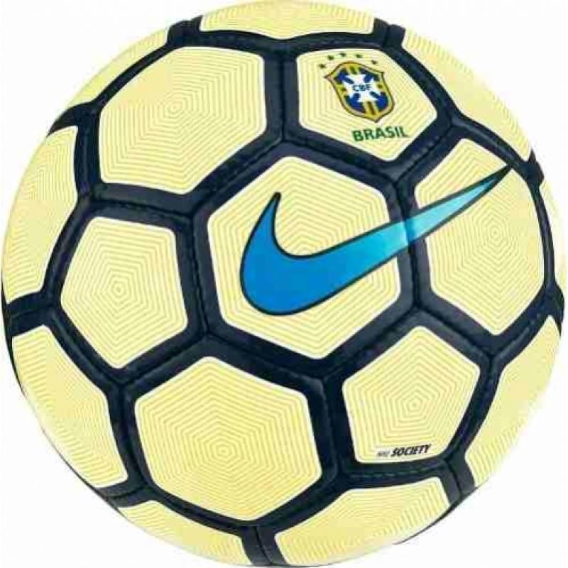 >Bola Nike Brasil Society 2017 + Nf