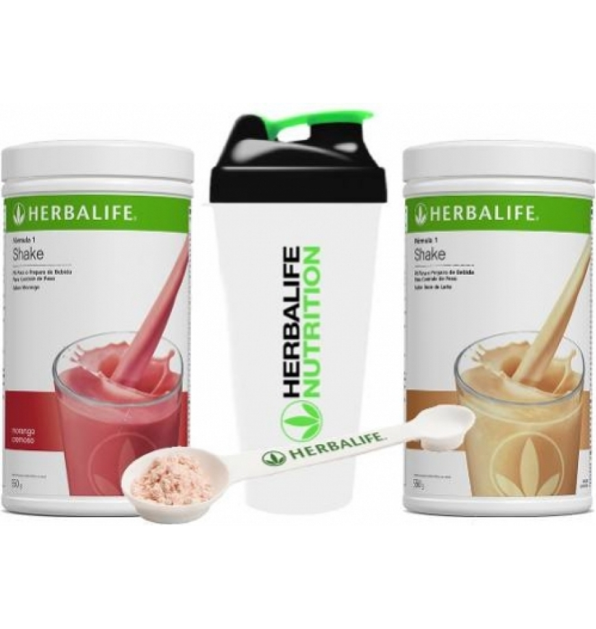 Kit 2 Shakes Herbalife Or...