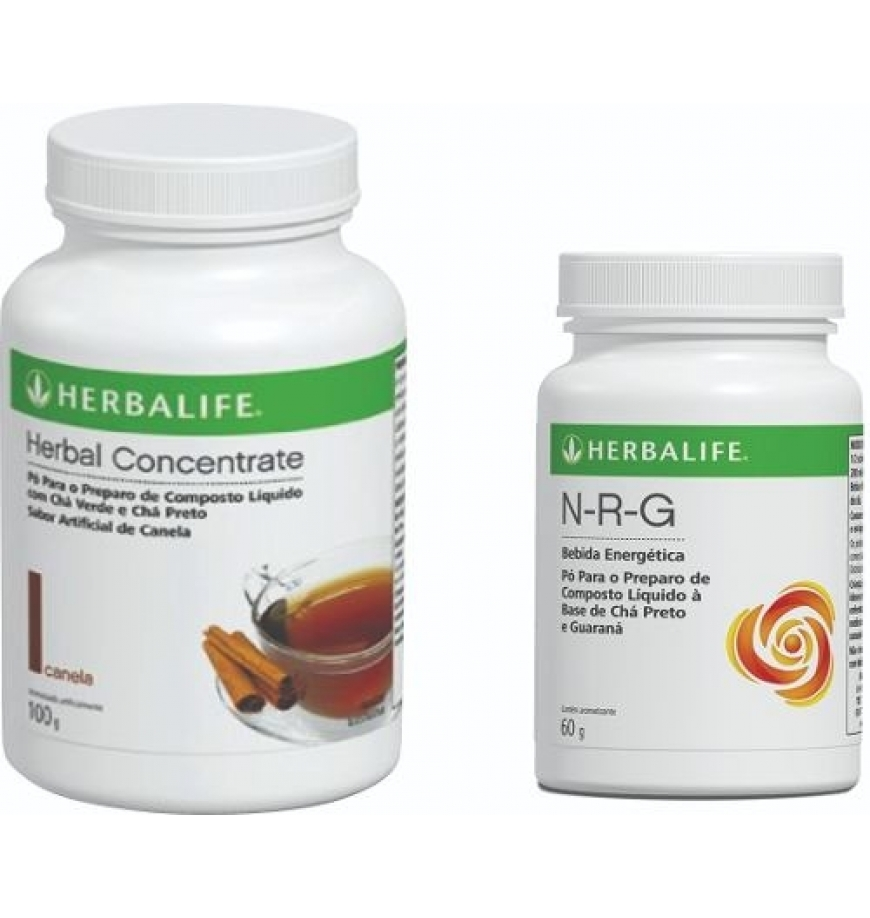Kit Herbalife Cha Termog�...