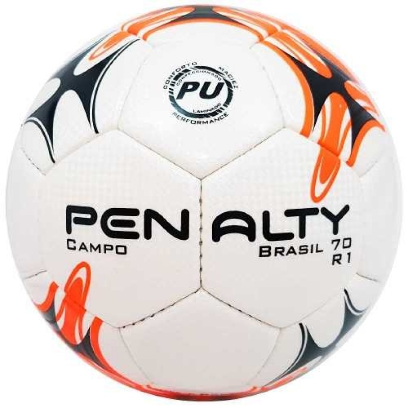>Bola De Futebol Penalty Oficial Brasil 70 R1 Campo