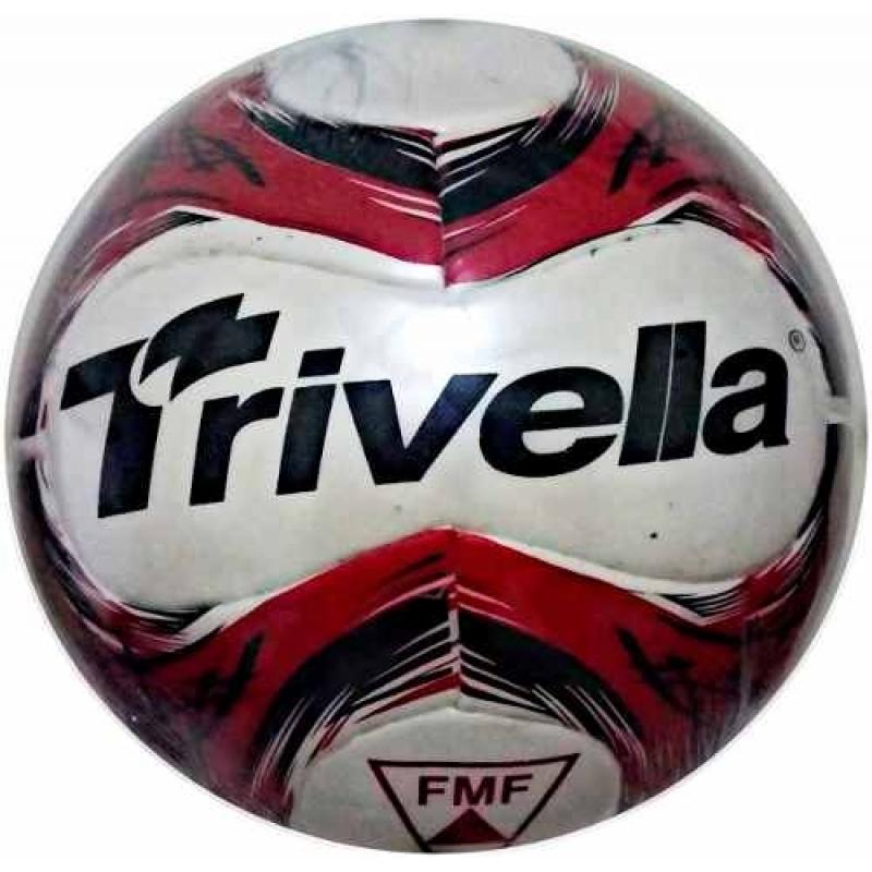 >Bola De Futebol De Campo 100% Pu Original - Brasil Gold