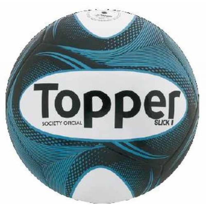 >Bola Futebol Campo Oficial Topper Slick Ii -super Promoção