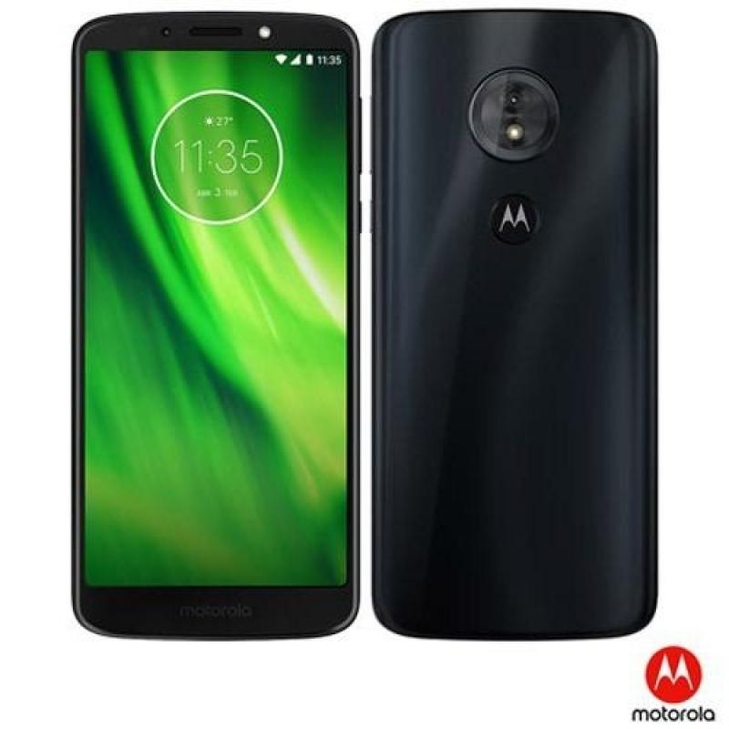 >Celular Moto G6 Play Índigo Motorola Tela 5,7  32gb Xt1922-5