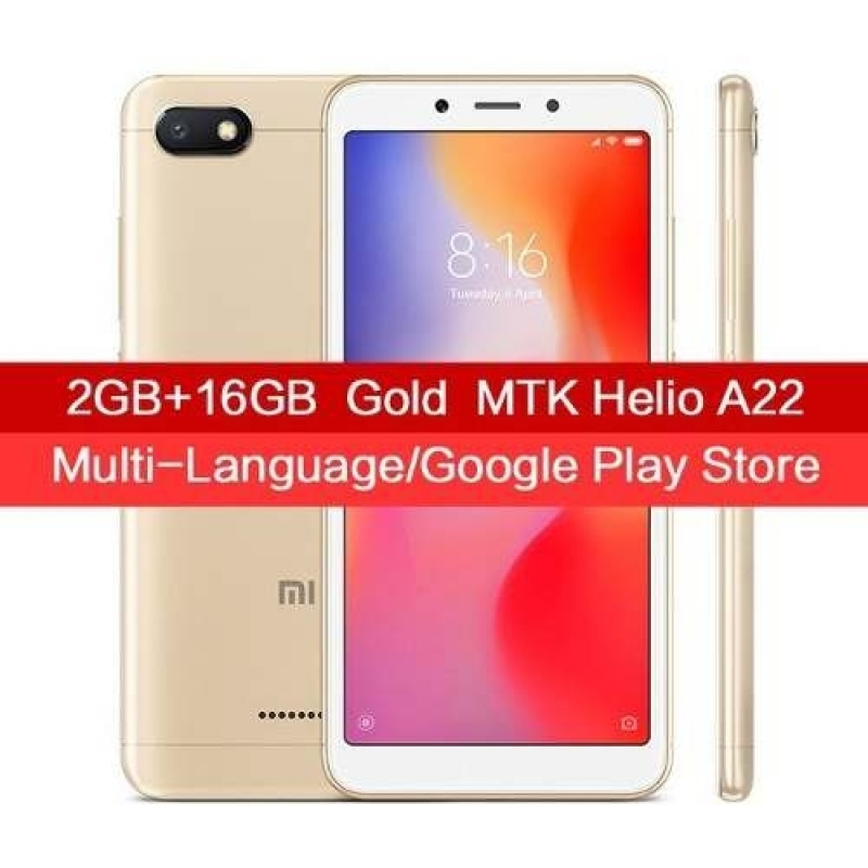 >Celular Xiaomi Redmi 6a Global Rom 16gb 2gb + Capa Pelicula