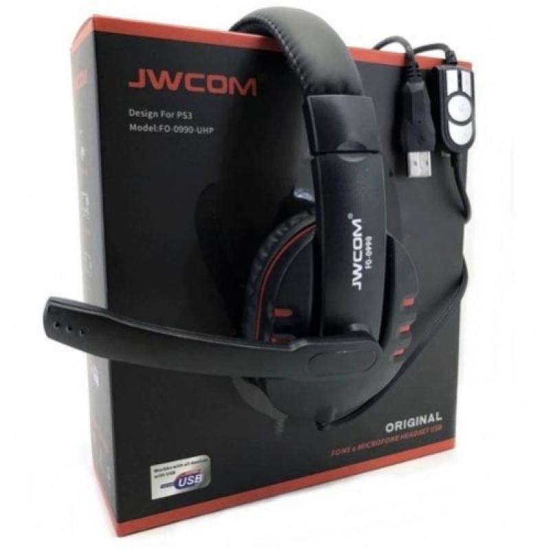 >Fone Ouvido Headset Gamer Áudio Chat 7.1 Usb 3.0 Microfone