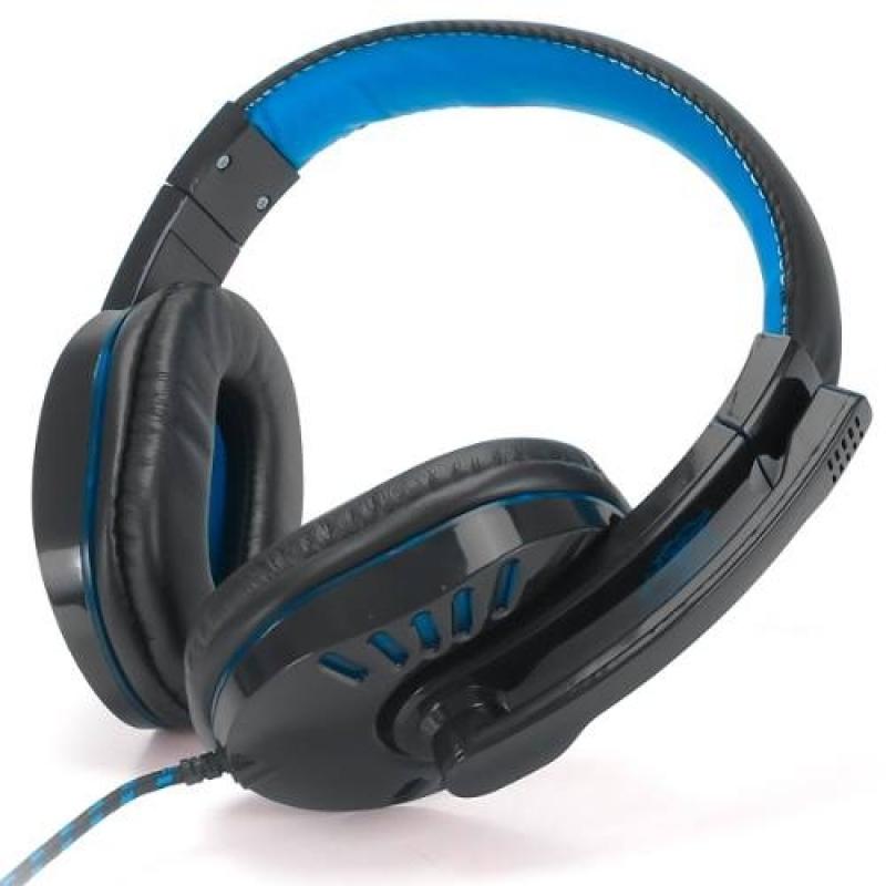 >Headset Gamer Fone De Ouvido Pc Ps4 Celular P2 Exbom Usb Led