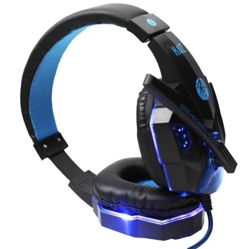 >Headphone Gamer Deneb 1802 Luz Led Fio Corda E Microfone